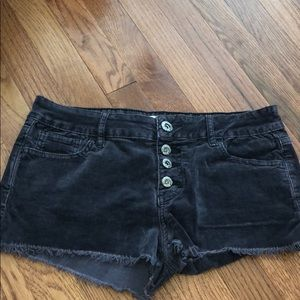 Pants - Black cut offs